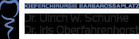 Logo Kieferchirurgie Barbarossaplatz Schunke Oberfahrenhorst